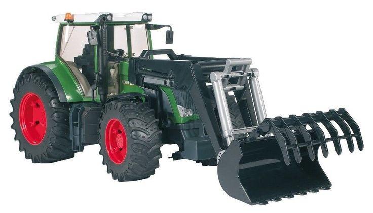 Bruder Fendt 936 Vario Tractor with Frontloader #BRUDER #Fendt