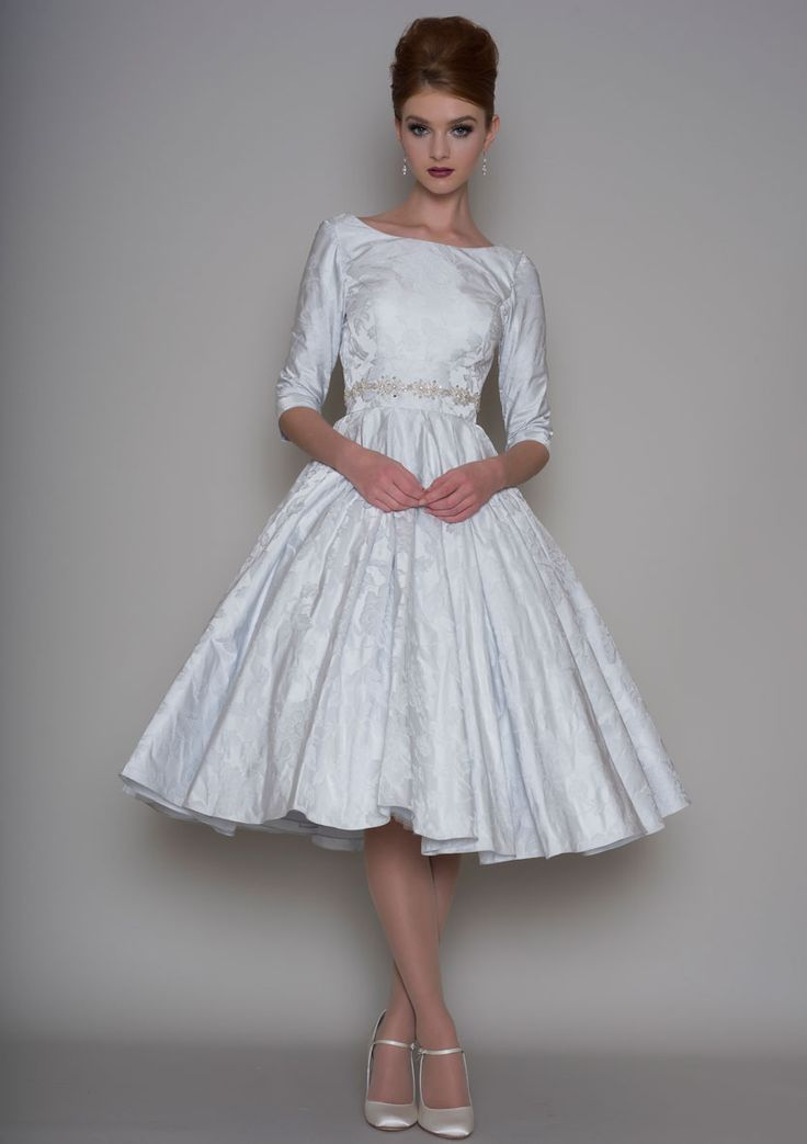 Vintage Style Tea Length Bridal Dresses Largest UK Selection Off The Peg And Bespoke