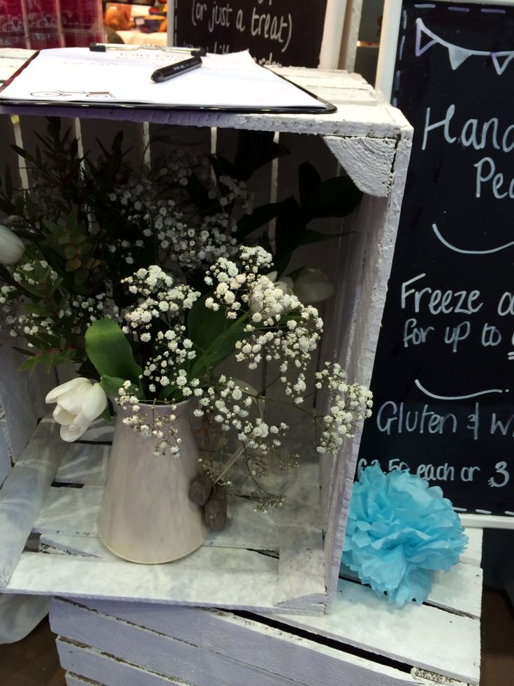 Spring flowers on our stand #fresh
