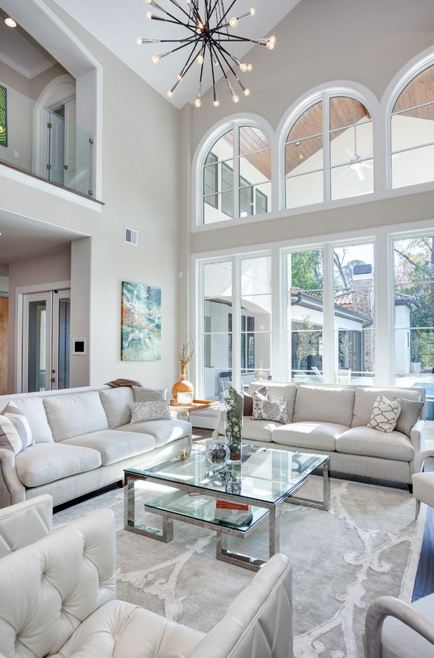 Outstandingly beautiful room. Love that white interior ...