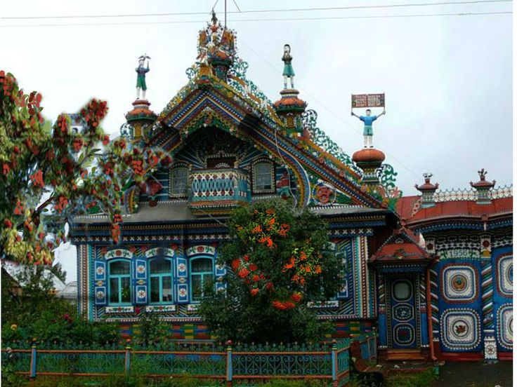 Резное великолепие: русские «пряничные» домики из дерева