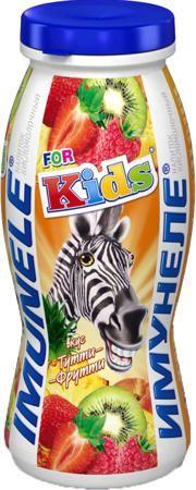 Имунеле For Kids Тутти-Фрутти 1,5% с 3 лет 100 г  — 19р. ------- Напиток кисломолочный Имунеле For Kids Тутти-Фрутти 1,5% с 3 лет 100 г. Это кисломолочный продукт для детей с 3-х лет, который содержит специально разработанный детский комплекс, состоящий из лактобактерий и нужных именно детям витаминов, благодаря чему Имунеле For Kids заботится о здоровье ребенка. Яркий, привлекательный дизайн и вкусы: Тутти-фрутти и Ягодный бум позволяют наслаждаться детям Имунеле For Kids каждый день, а…