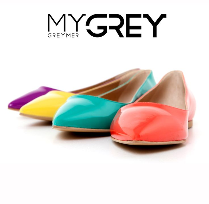 #flat #shoes #color #mygrey #greymer