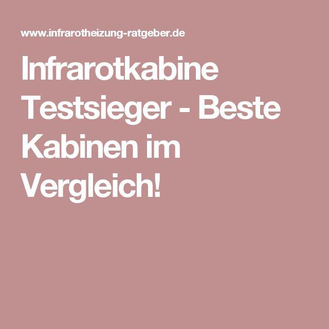 Infrarotkabine Testsieger - Beste Kabinen im Vergleich!