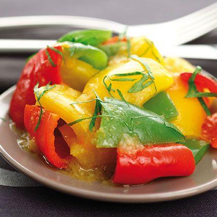 Peperonata tricolore