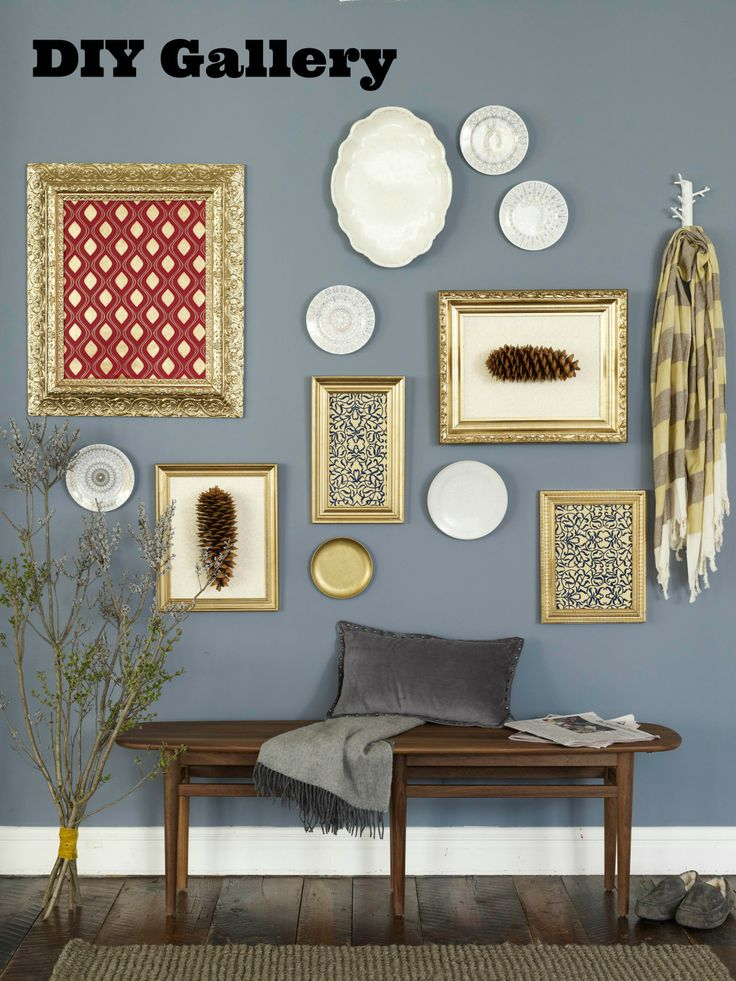 Thrift Store Home Decor Ideas Part - 24: Buy A Variety Of Wood Frames From The Flea Market Or Thrift Store. Spray  With. Home DecoratingHoliday ...