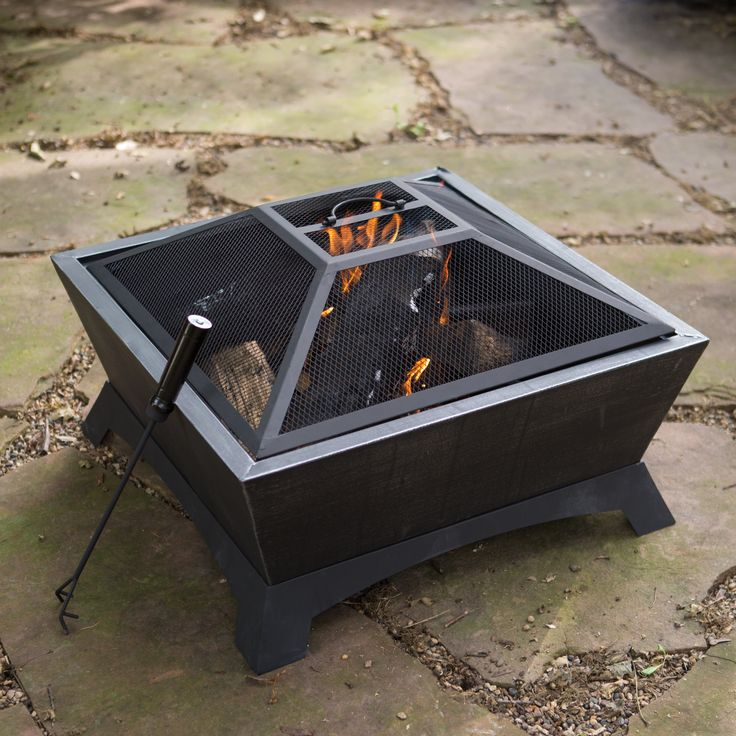 Have to have it. Red Ember 26 in. Ironworks Wood Burning Fire Pit with Free Cover - $104.98 @hayneedle