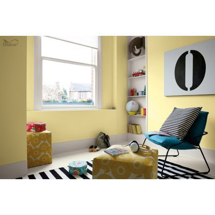Vanilla sundae dulux paint available now at homebase in for Dulux boys bedroom ideas