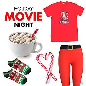 Christmas Movie Night Outfit Idea
