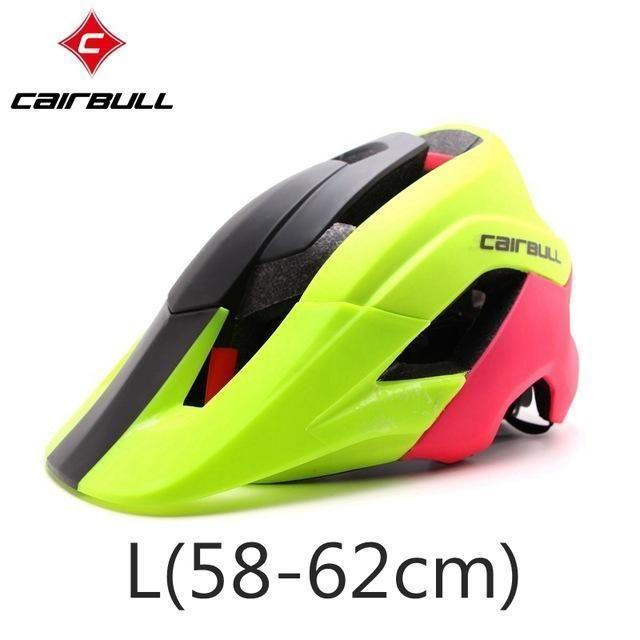 Cairbull Super Design Mountain Bike Helmet Deeper Coverage Mtb