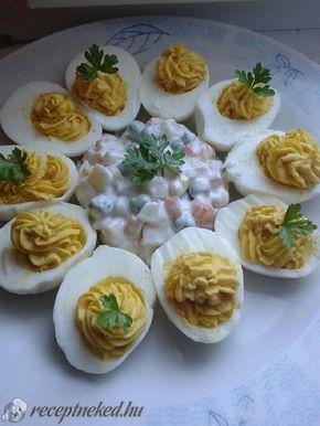 A legjobb Tavaszi töltött tojások franciasalátával recept fotóval egyenesen a Receptneked.hu gyűjteményéből. Küldte: Gyergyák Mária