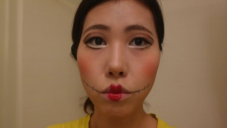 베이비돌 할로윈 메이크업/ BabyDoll Halloween Makeup