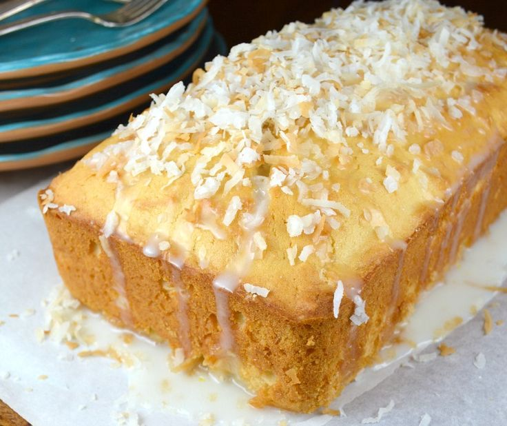 Old Fashion Coconut Cake. I don't really care for pound cake, but this was the MOST DELICIOUS I've ever had!! Changed the glaze to less sugar- 1/2 cup, added half teasp. coconut extract.