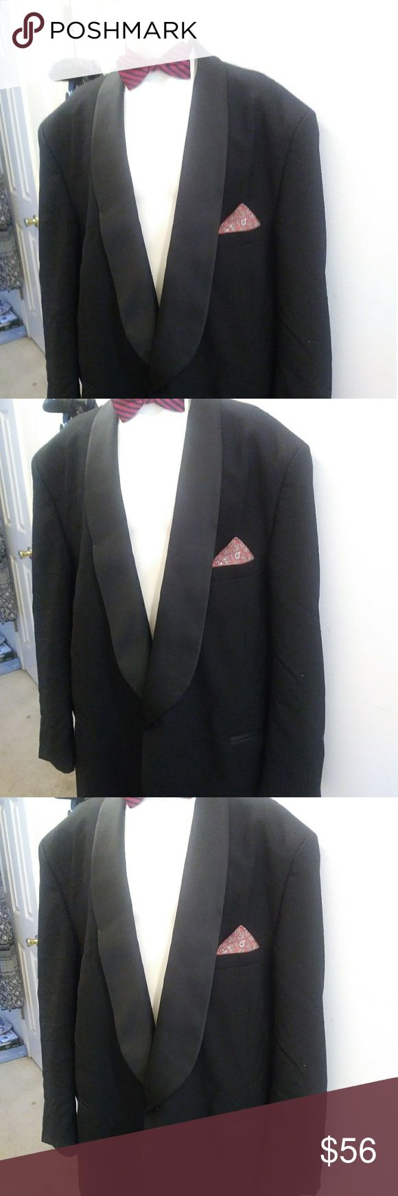 Pierre Cardin vintageTux $55 SZ 56 lg + free gift Pierre Cardin vintage tuxedo $55 SZ 56lg pants 42 x 32 + free gift any item priced $18 or less & Other Stories Suits & Blazers Tuxedos