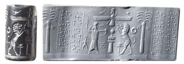 Persian Cylinder Seal. Achaemenid Period #Cuneiform
