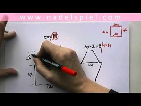 Stricken mit eliZZZa * RVO Video #03 * Raglan von Oben berechnen
