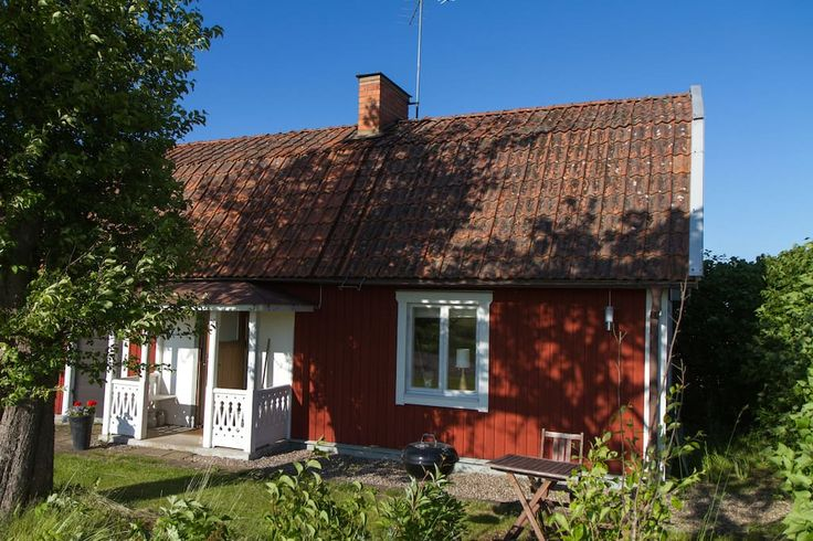 Cabin in Linköping, Sweden. A comfortable and charming typical Swedish cottage located in a small village located just 10 minutes away from the town of Linköping. The vibrant 19th century, red and white cottage is placed smack dab in the middle of Östergötland farm fields. T...