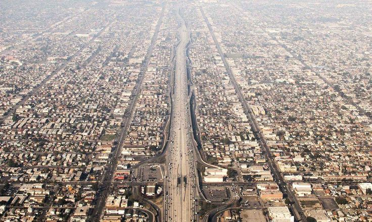 Urban veins (Los Angeles) Photo by Dmitry Skvortsov — National Geographic Your Shot