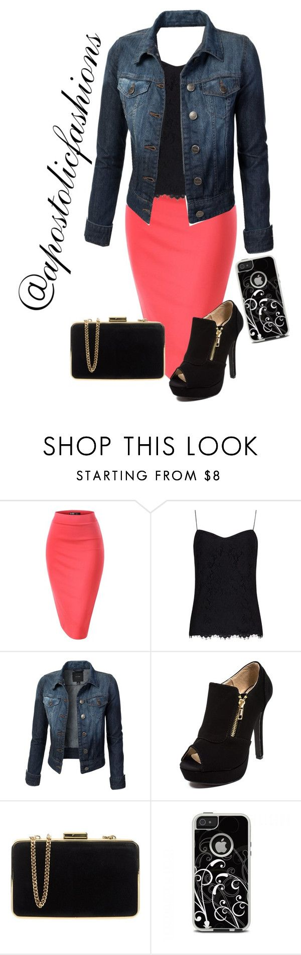 """""""Apostolic Fashions #1434"""" by apostolicfashions on Polyvore featuring Ted Baker, MICHAEL Michael Kors and OtterBox"""
