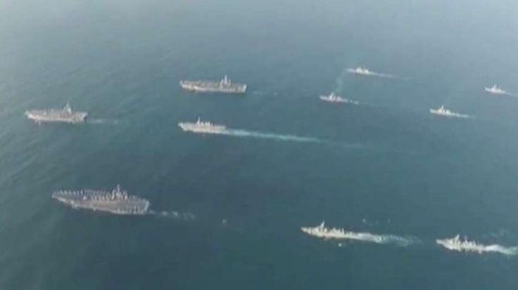 FOX NEWS: 3 US Navy aircraft carriers operate off Korean Peninsula