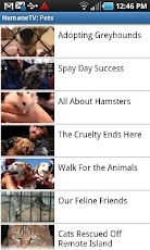 HumaneTV App for Android by The Humane Society of the United States
