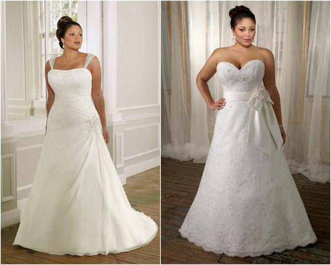 Vestidos Sencillos de novia para Gorditas - Para Más Información Ingresa en: http://vestidosdenoviaoriginales.com/vestidos-sencillos-de-novia-para-gorditas/