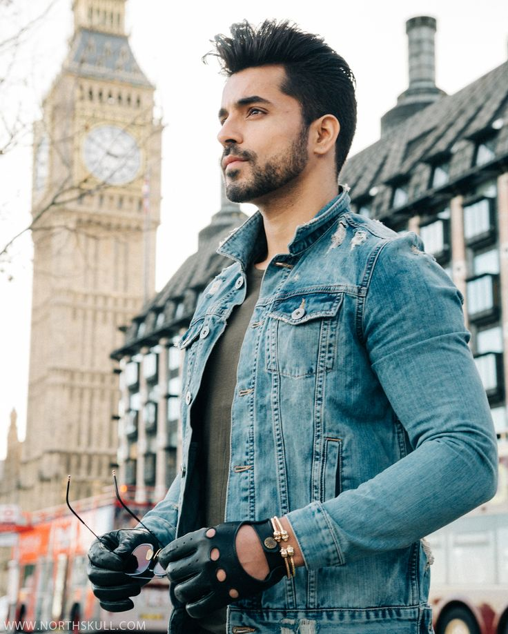 Celebrities in Northskull! | While in London, Bollywood Star Gautam Gulati layers 2 of our faceted Twin Skull Bracelets to complement his outfit. Great look  | Photography by @alessiachinazzophotography #MensFashion #Bollywood