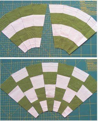 """Using Striped Fabric Instead of Strip Piecing"" tutorial from Geta Grama of Geta's Quilting Studio"
