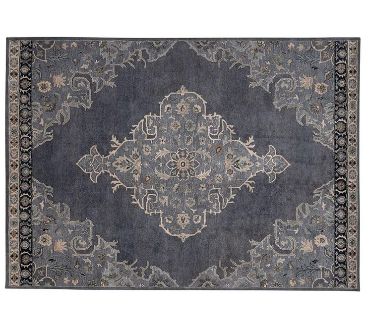 Bryson Persian-Style Rug - Navy - Lounge