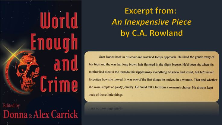 An Inexpensive Piece by C.A. Rowland
