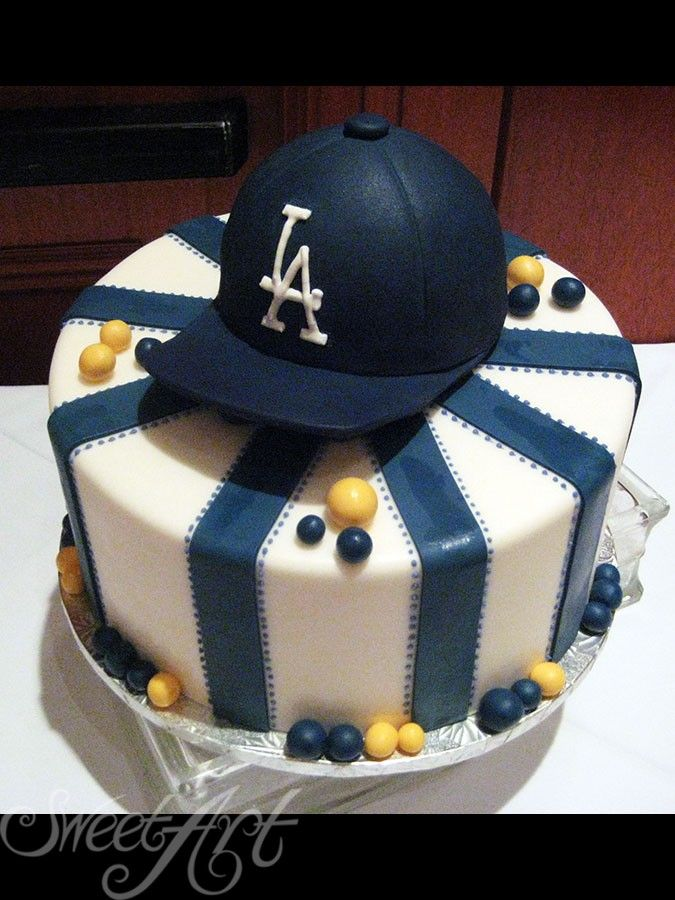 La Dodger Birthday Cake Designer Wedding Anniversary And Special Occasion Cakes