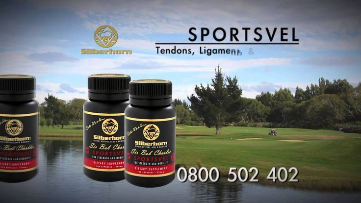 Sir Bob Charles Sportsvel By Silberhorn for strength and mobility. Great product dor your joints #deervelvet #silberhorn #sportsvel #health #naturalhealth