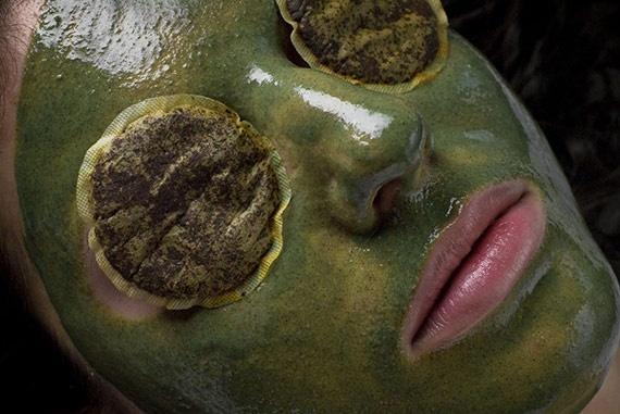 borostyános iszappakolás a budapesti Next Premium Club kozmetikájában