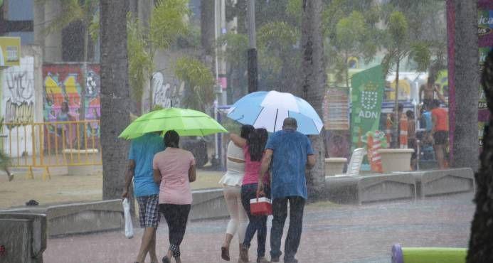 Este jueves se incrementarán las precipitaciones al norte del país