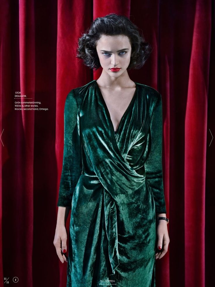 Elle Sweden Revisits Twin Peaks In Fashion Shoot