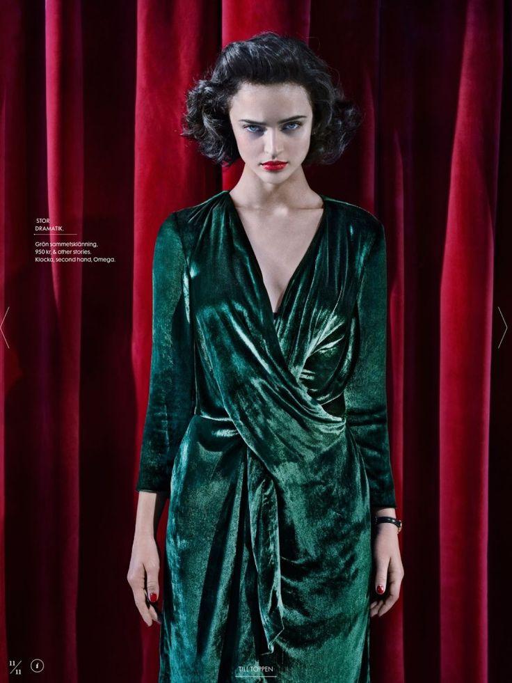 Elle Sweden Revisits Twin Peaks In Fashion Shoot