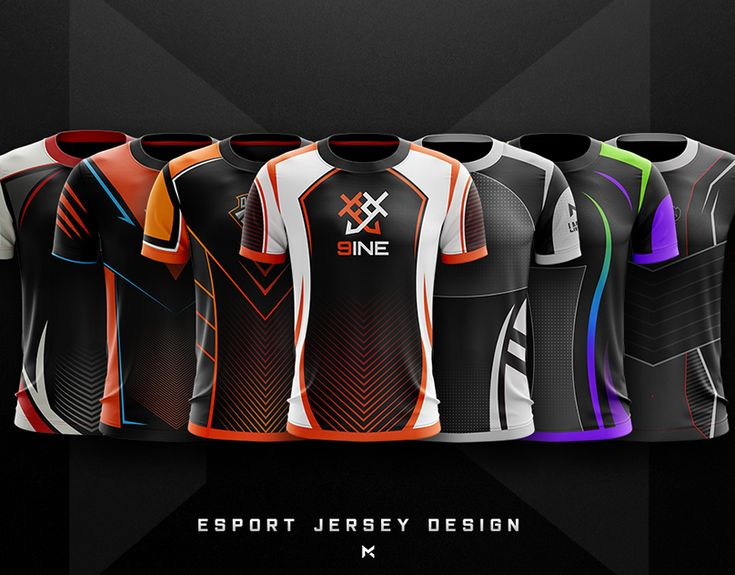 Download JERSEY ESPORT TEAM MOCKUP on Behance (With images) | Sport ...