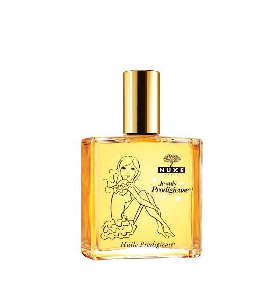 Huile Prodigieuse Édition Limitée de Nuxe http://www.vogue.fr/beaute/shopping/diaporama/huiles-seches-corps/12376/image/739411