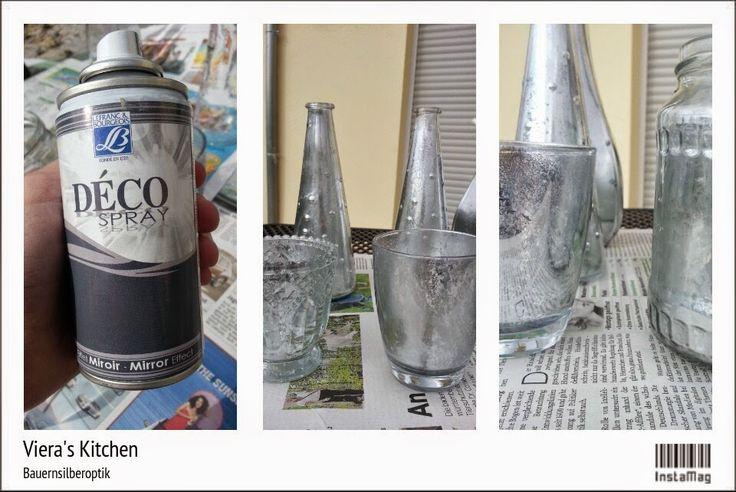 DIY : Teelichter in Bauernsilber Look