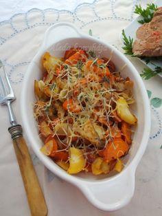 Aleda konyhája: Sajtos sült zöldségek