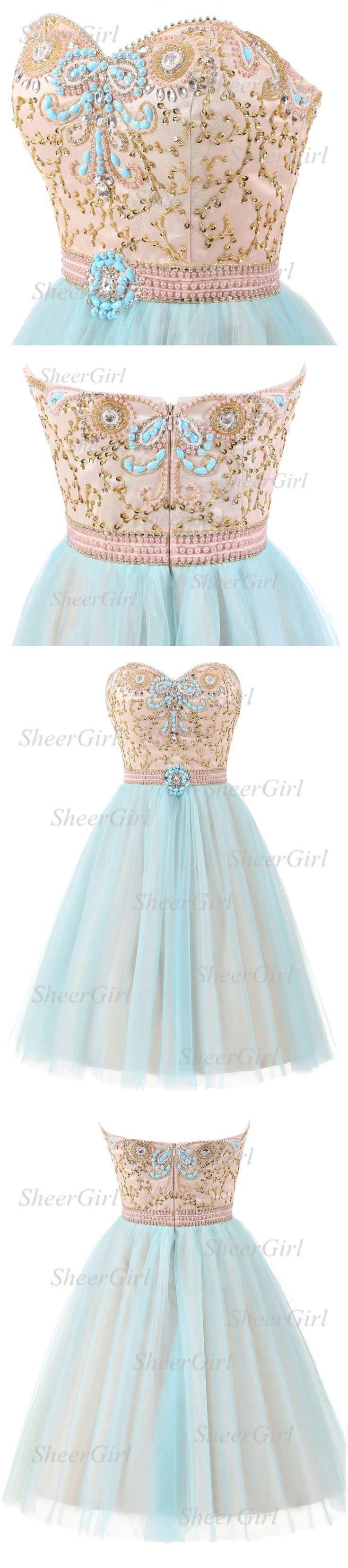 Strapless homecoming dresses,homecoming dresses 207,shinny homecoming dresses with sweetheart neck.