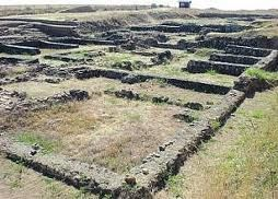 MANSILLA DE LAS MULAS - Lancia, an Roman-era Asturian site. As far as I can tell we walked right past this, no mention in the guidebook or on the ground. God damn it, Spain, what is wrong with you?
