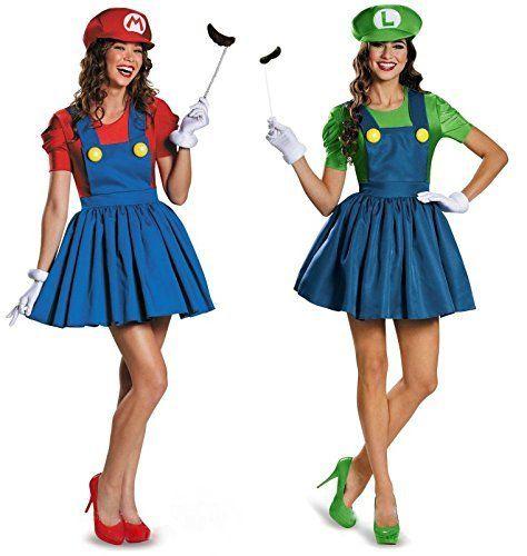 スーパーマリオブラザーズのマリオとルイージのコスプレセ...