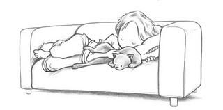 Kurt Halsey couch by athenamat, via Flickr