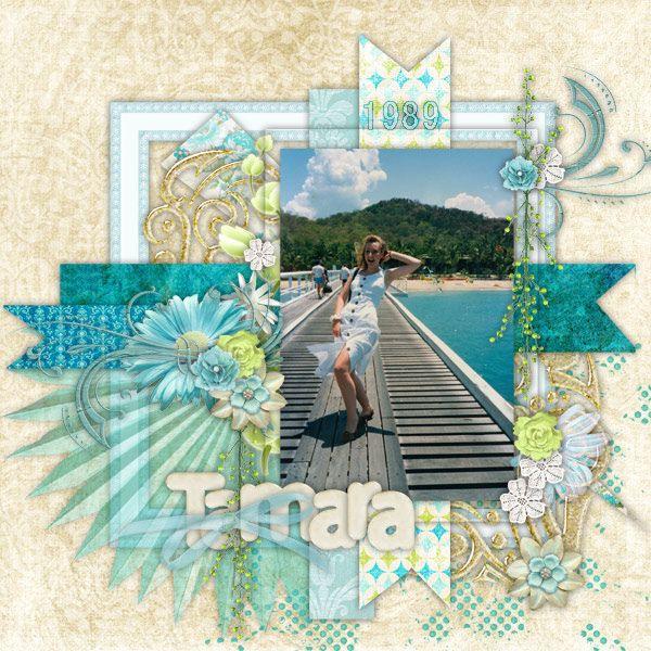 https://flic.kr/p/s47YHm   Tamara-Green-Island   Maria Designs - Bouquet de la Serenite