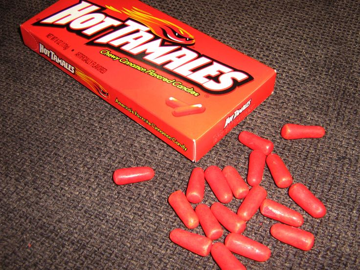 Hot Tamales candy | named after animals and food | Pinterest