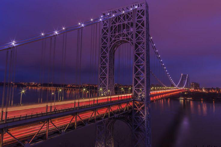 George Washington Bridge, Fort Lee, NJ by smullengada on 500px