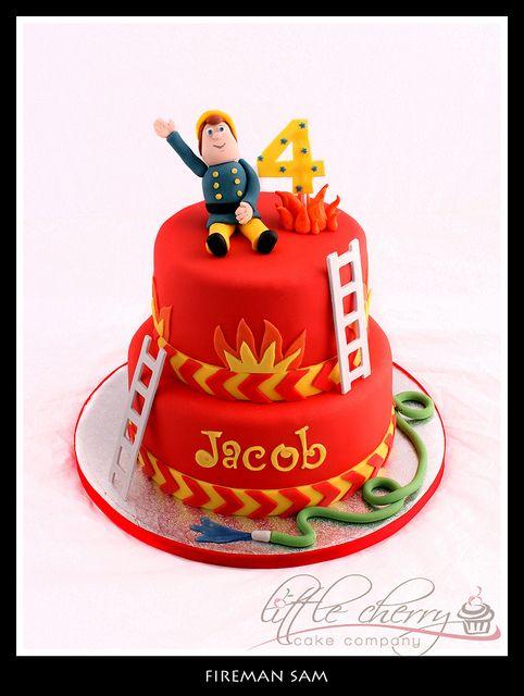 Fireman Sam by Little Cherry Cake Company, via Flickr