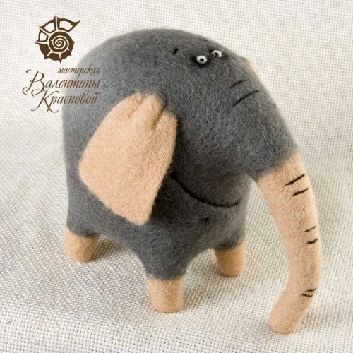 Great style -- needle felted animals