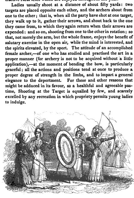 Archery, once a critical skill for protection and hunting, fell out of fashion in England sometime in the 1500s to be resurrected en masseby the upper classes as sport in the late 1700s. By the R...